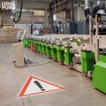 Signalétique lumineuse de sécurité usine et site de production