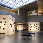 Projecteur message lumineux signalétique musée