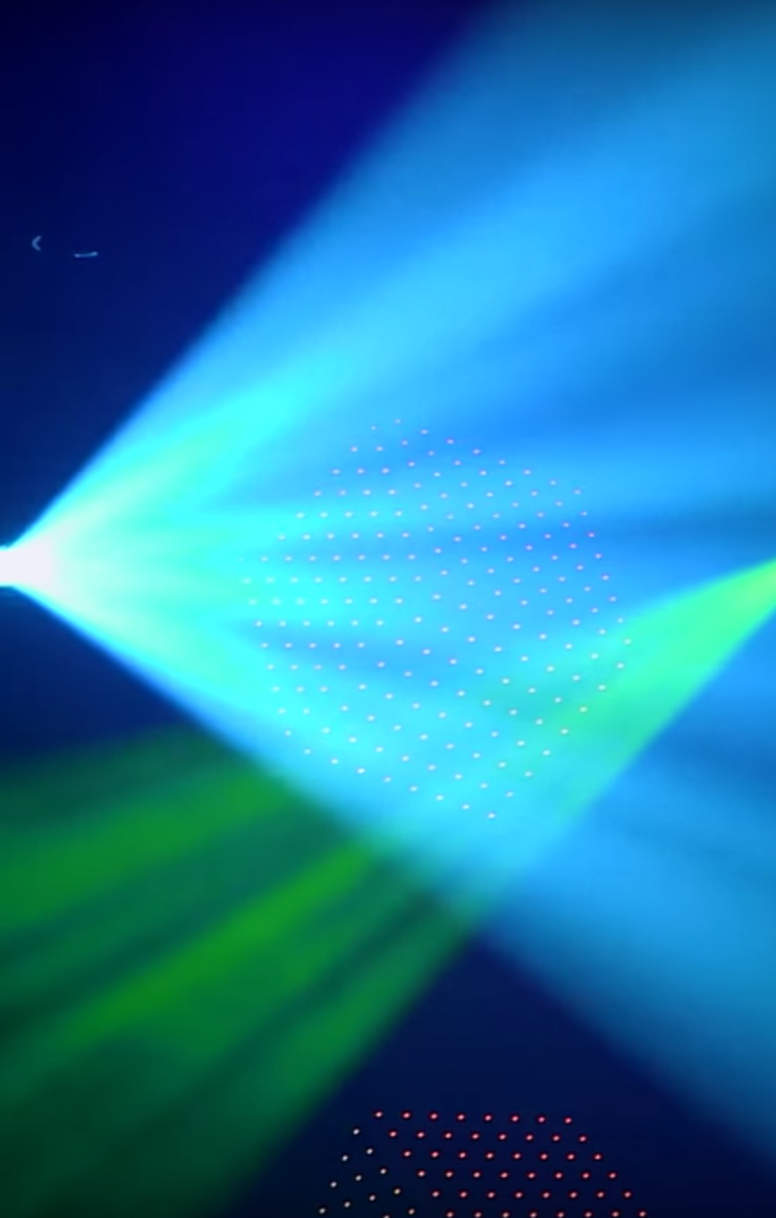 Martin RUSH Scanner LED 1